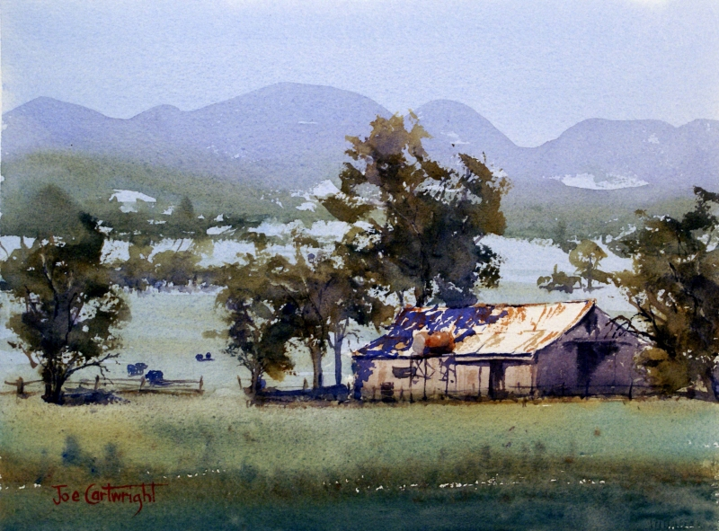 Watercolour landscapes joe cartwright watercolour artist for Watercolor scenes beginners