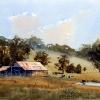 Watercolour Painting,Bringelly Farm, NSW