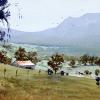 Watercolour landscape painting Near Milton NSW