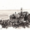 assisi-italy-pen-and-ink