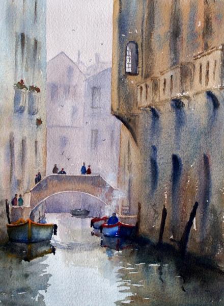 Venice Joe Cartwright Watercolour Artist