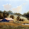Watercolour Painting,Bringelly Farm, NSW
